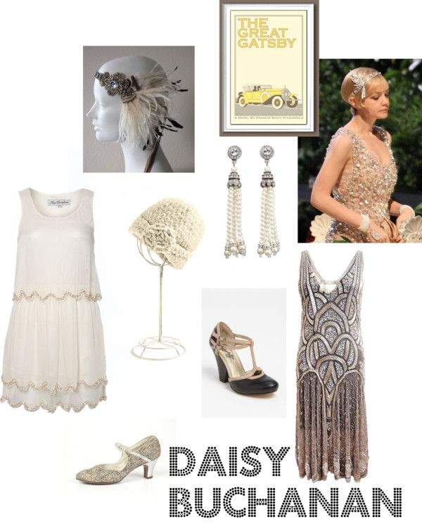 Daisy Buchanan costume idea
