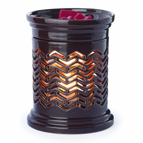 Candle Warmers Etc. Illumination Candle Warmer, Chevron Price: $18.7 #Candles #CandleHolders #HomeDecor