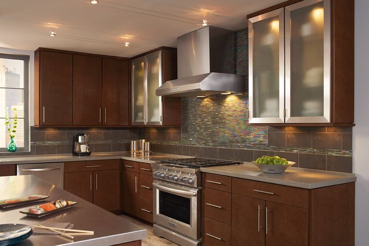 Cabinets on pinterest cherries contemporary kitchen cabinets and