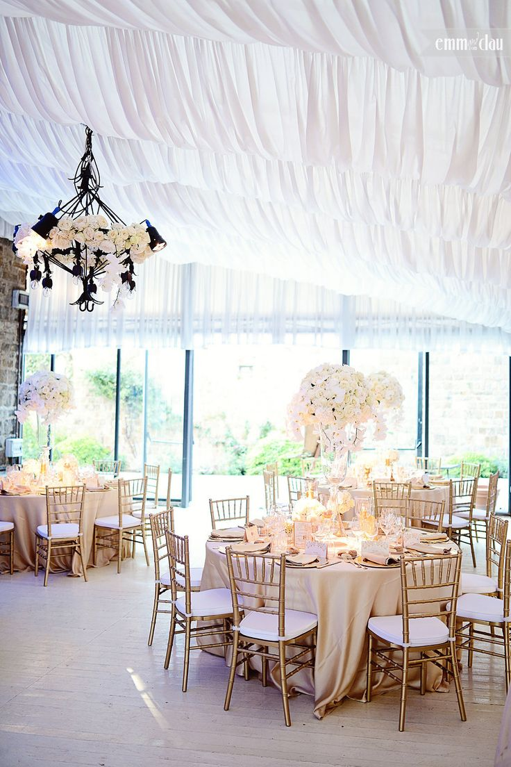 Wedding in Florence  Gold and White color scheme