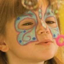 how to make a butterfly face paint
