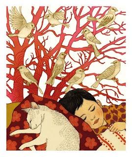 Ilya Green. (I feel tremendous gratitude to all the illustrators who make our world more beautiful.)
