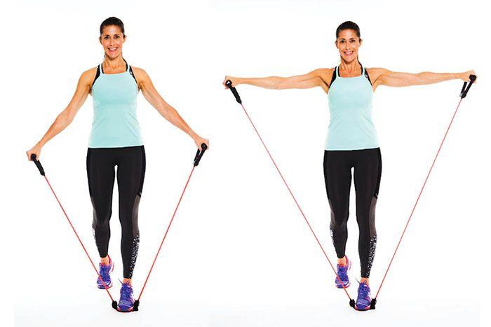 Träna med gummiband: 7 övningar som stärker kroppen