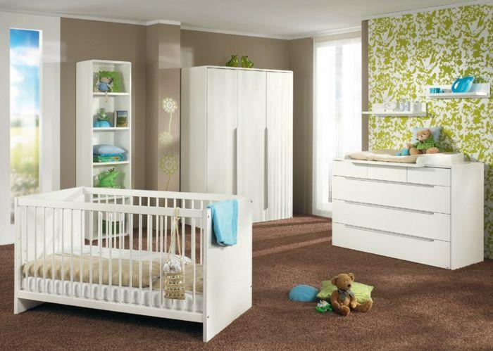 Fresh Babyzimmer Set braun boden wei e kommode