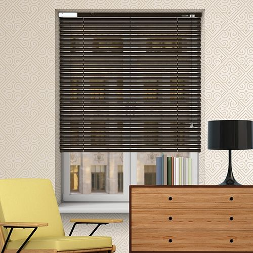 Controliss 6V DC battery Powered (Tilt-Only) Soho Pewter Venetian Blind. #VenetianBlind #ControlissBlinds #SohoPewter #ElectricVenetianBlind