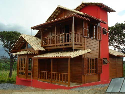 Casas+De+Madeira | Casas de Madeira – Fotos
