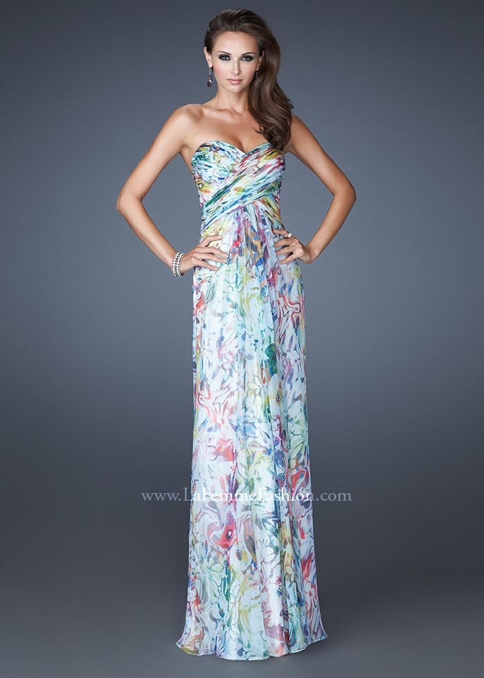 Floral prom dresses cheap