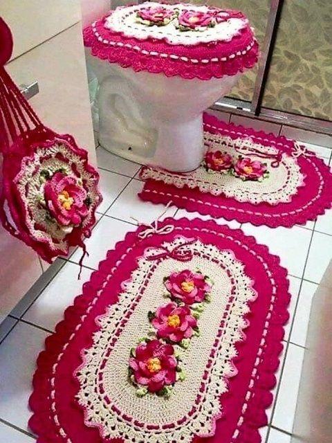 8b2326e803a6 Ideas de tejido a crochet para decorar nuestro hogar | Proyectos que ...