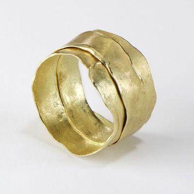 Ruth Tomlinson - Gold Wrap Ring