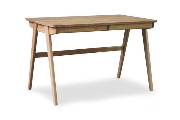 Sophosticated elegance with practical features... the Kik desk not only looks great but has 2 large drawers and clever storage spaces at the back of the desk for power packs or just the usual office stuff. Great design and clever storage.