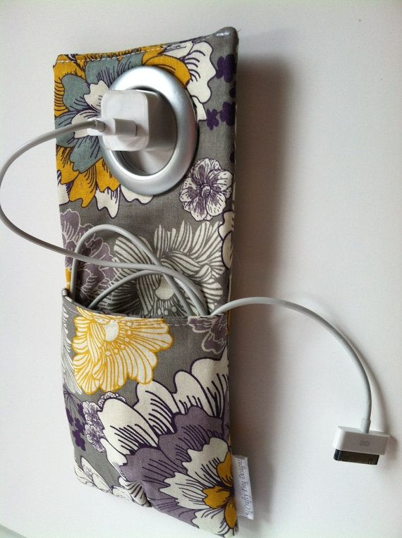 Cell Phone Wall Socket Charging Holder
