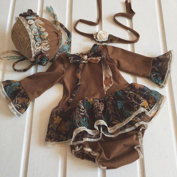 cod911 Pants and blouse set newborn set от 4LittlePrincessProps