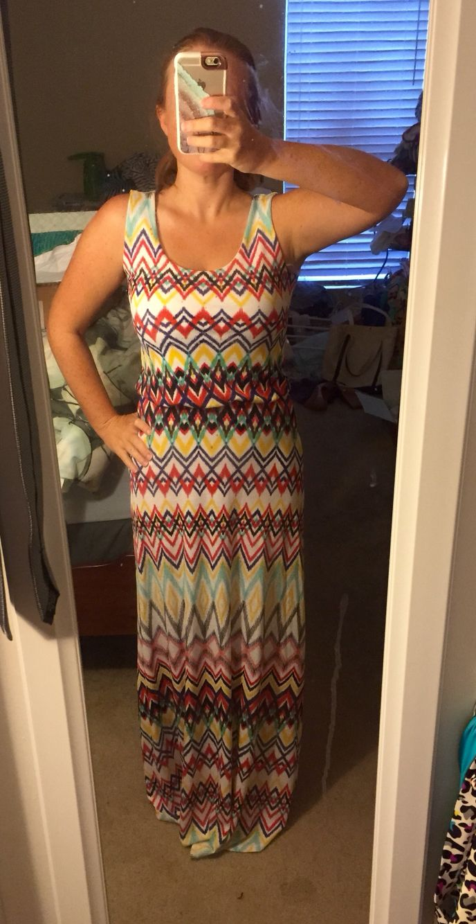 My maxi dress is too long