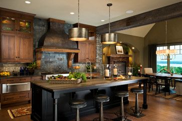 2014 CRBRA Parade of Homes - rustic - Kitchen - New York - Witt Construction