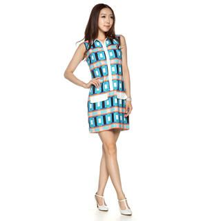 Buy 'Simple Life Z – Geometric Pattern Shift Dress' at YesStyle.com plus more Hong Kong items and get Free International Shipping on qualifying orders.