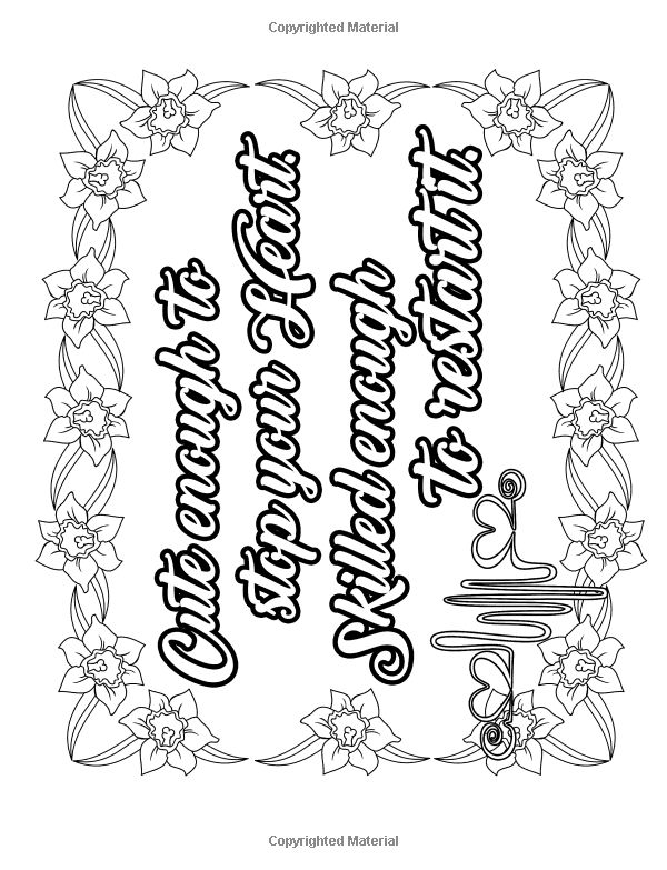 Nurse Coloring Book: Funny Adult Coloring Books For Nurses ...
