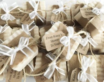 Natural Mommy To Bee Baby Shower Favors  From My