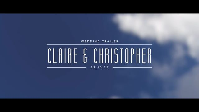 Congratulations to Claire & Christopher who tied the knot today at St. Winifride's in Wibsey, before heading across to The Old Barn at Esholt for their wedding reception. Here's the trailer!