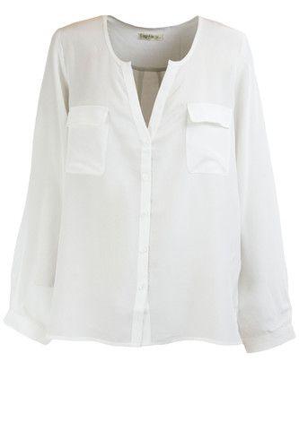 Reily shirt in white