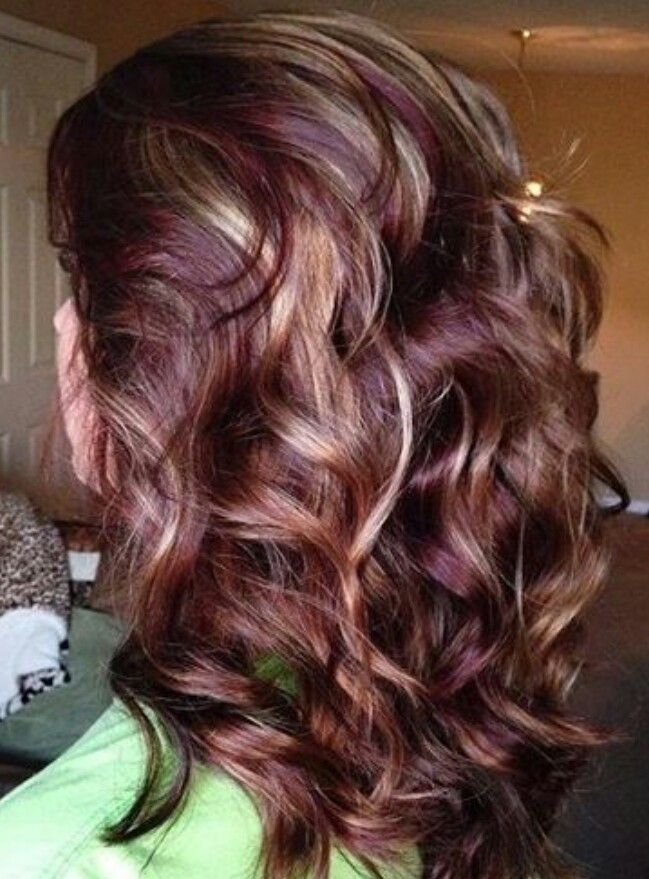 25 Best Ideas About Red Blonde Highlights On Pinterest