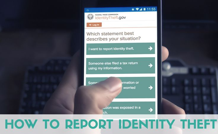 Just discovered that someone stole your identity? Here is how to report identity theft