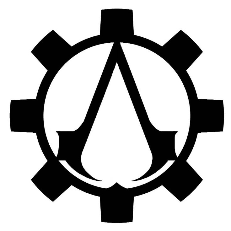 Steampunk Symbol | Steampunk Assassin's Creed Symbol Design 2 by Eryn-Grace-OMalley