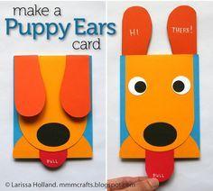 ATELIER CHERRY: Cartão de cachorrinho                                                                                                                                                      Mais