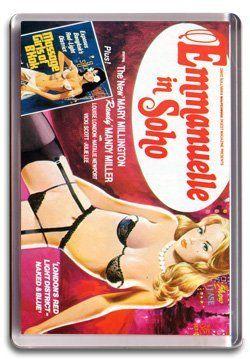 Emmanuelle in Soho - Fridge Magnet: Amazon.co.uk: Kitchen & Home