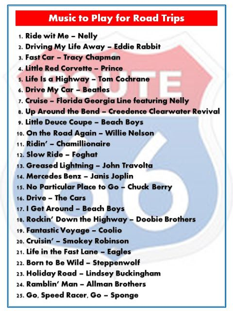 As we've previously acknowledged, the season of theGreat American Road Trip is upon us. And of course, what better time tolisten to son...