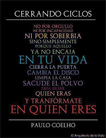 Cerrando Circulos. Paulo Coelho