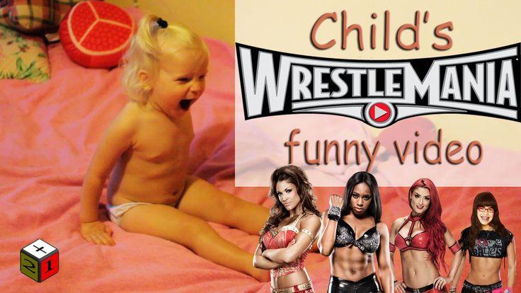 Ребенок играет. Реслинг. Веселое видео. Child's play wrestling. Funny Vi...