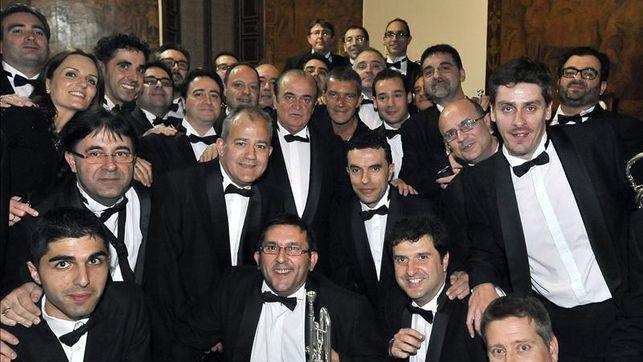 Antonio Banderas estrena en Albacete las marchas de Semana Santa compuestas por él