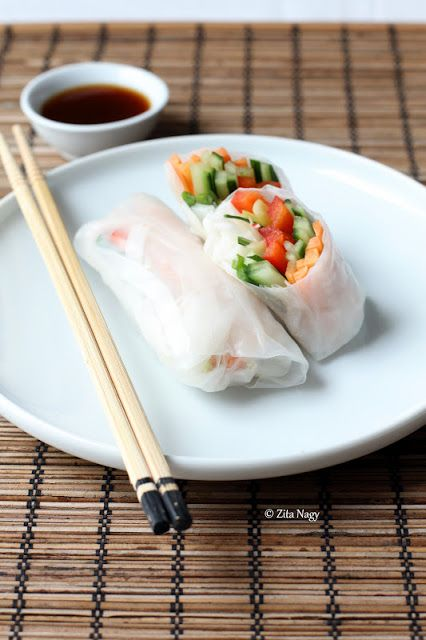 Spring Rolls With Citrus Soy Sauce : Zizi's Adventures – Real Food, Real Stories