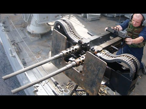 US Sailors Firing the Monstrously Powerful Twin .50 - https://www.warhistoryonline.com/whotube-2/us-sailors-firing-the-monstrously-powerful-twin50.html