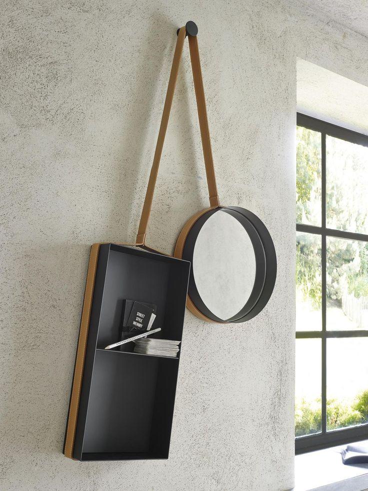 les 25 meilleures id es de la cat gorie miroir suspendu sur pinterest d coration de petite. Black Bedroom Furniture Sets. Home Design Ideas