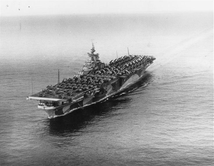 Авианосец USS Ticonderoga до и после модернизации - история в фотографиях