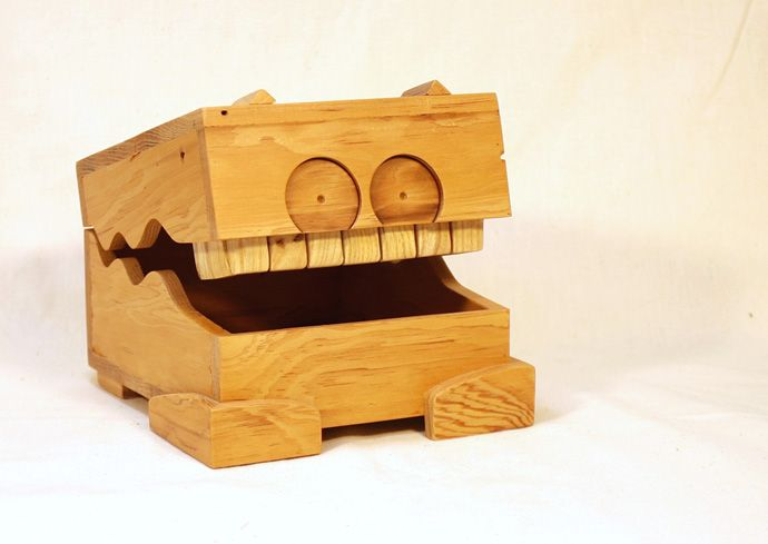 Eric Grimes Reclaimed wood box Monster Box