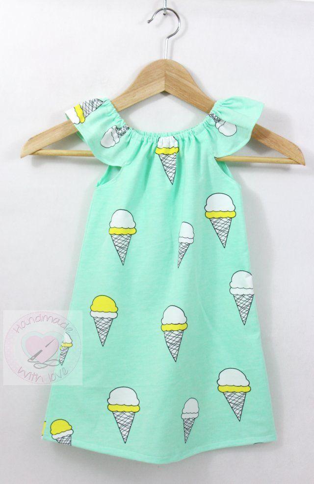 Sukienka trapezowa lody rozmiary 62-128