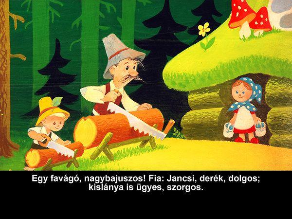 Grimm testvérek: Jancsi és Juliska - diafilm | bookline