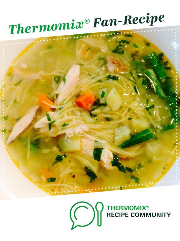 CHICKEN NOODLE SOUP by Thermomistress. A Thermomix ® recipe in the category Soups on www.recipecommunity.com.au, the Thermomix ® Community.
