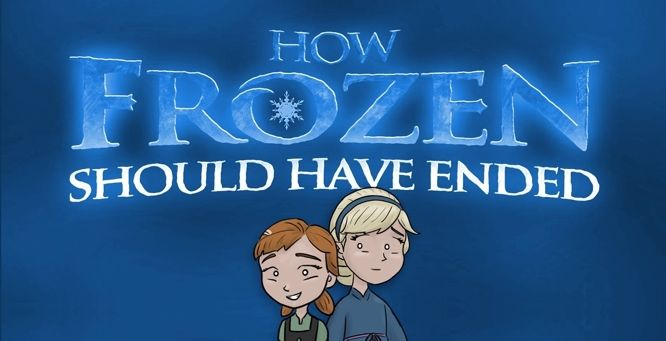 """Funny video - """"How Frozen Should Have Ended"""" http://y94.com/blogs/the-morning-playhouse-blog/956/video-how-frozen-should-have-ended/"""