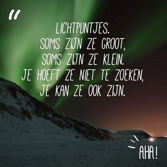 Quote lichtpuntjes