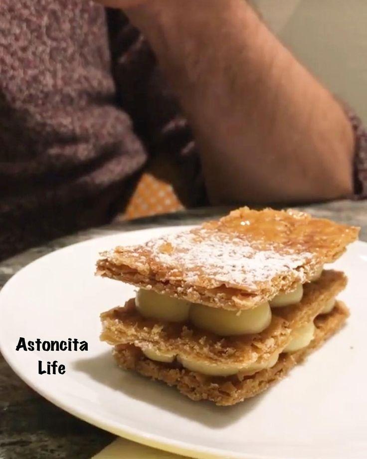 (English below)  . .  Mi señor marido y el pastel que él ha elegido!! . .  My lord husband and the cake  he has chosen!! . . #tuesday #morning #motivation #view #restaurant #cafe #bakery #snack #cake #coffee #cream #homemade #husband #beauty #lisbon #portugal #europe #vacation #traveling #travel #trip #healthyfood #healthychoices #healthylife #mystyle #like4like #follow4follow #followme
