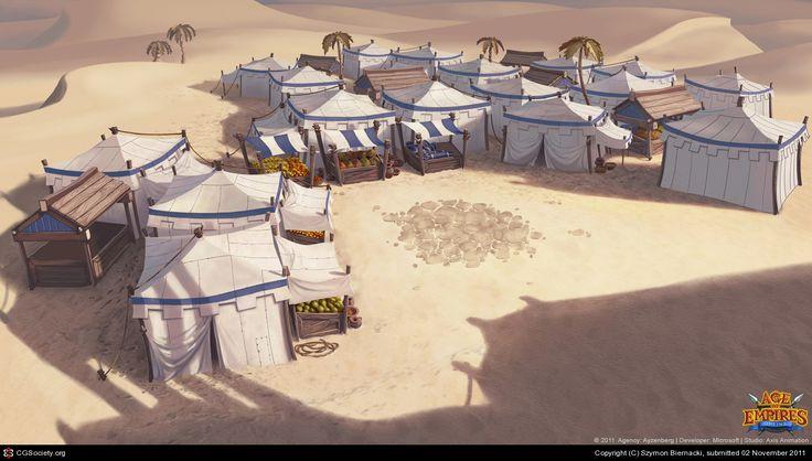 Age of Empires Online trailer artwork by Szymon Biernacki | 2D | CGSociety