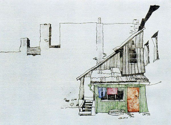 Dalius Regelskis - Vilnius Oldtown, Lithuania