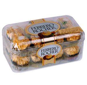Ferrero rocher 16 pcs  (ferrero rocher)  Express delivery of 16 Pcs.ferrero rocher in Noida and Greater Noida.