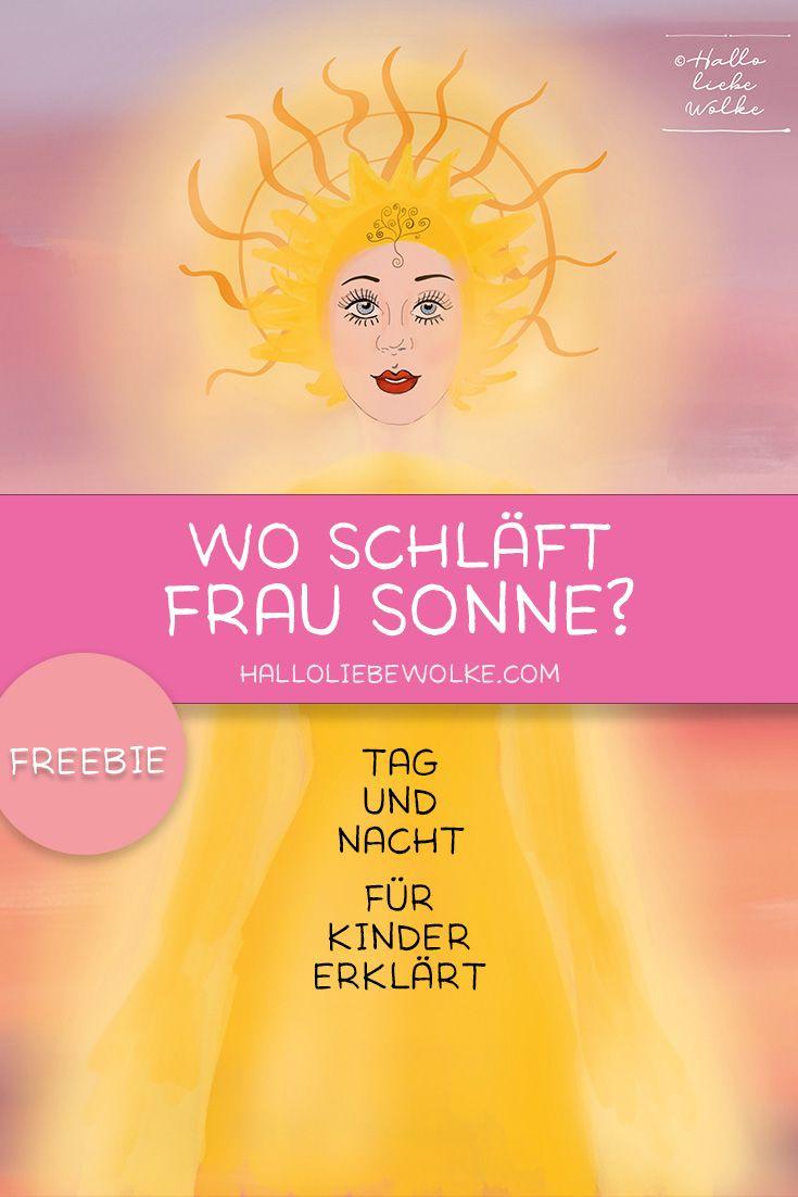 Wo schläft Frau Sonne? Eine Lerngeschichte zur Sonne. (free eBook) – Hallo liebe Wolke – Mamablog, Autorenblog