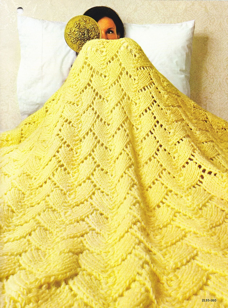 Afghan Knitting Patterns - via Etsy.