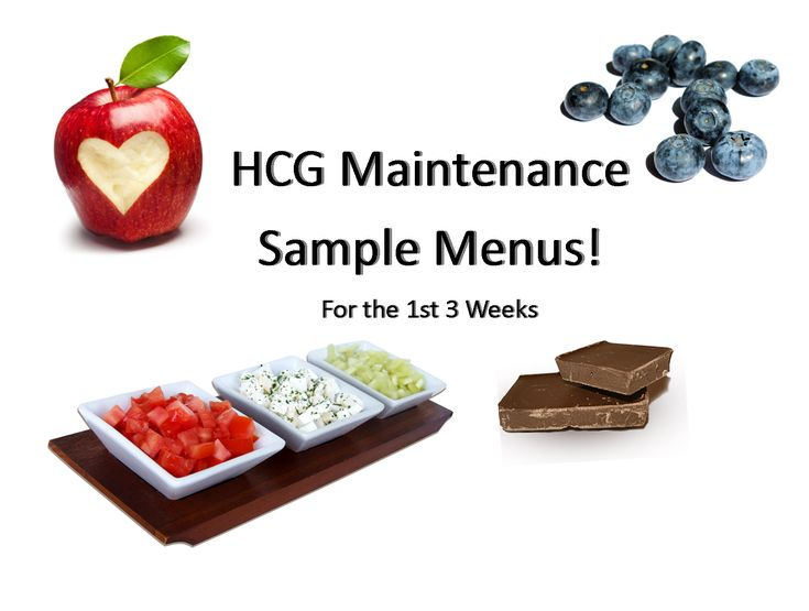 To help you be successful on HCG phase 3 we've created HCG Maintenance Sample Menus!