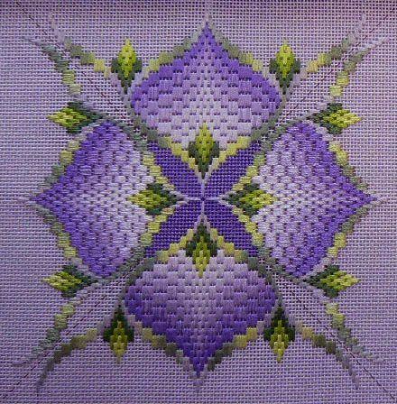 Learn Bargello Stitch - Make Beautiful Designs on Canvas